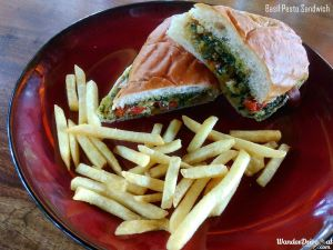 Paddy's Cafe Basil Pesto Sandwich