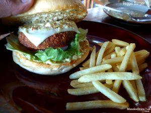 Paddy's Cafe Veggie Burger