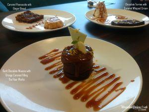 The Flour Works chocolate dessert