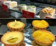 The Four Works cakes