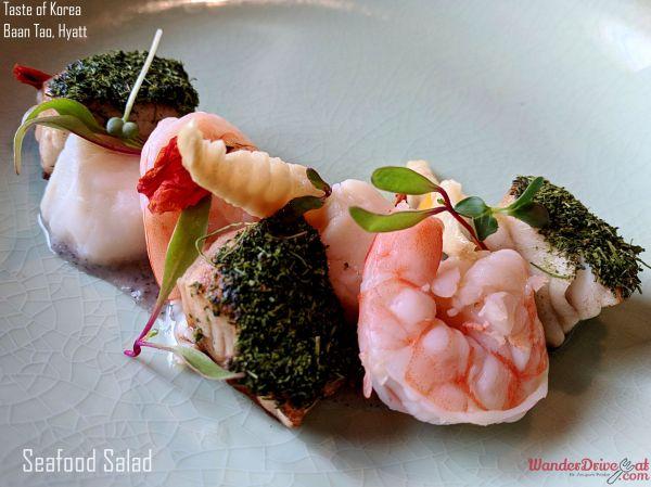 Seaood Salad Peanut Sauce