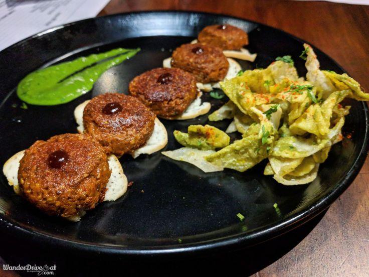 Mushroom Tunday Kebab