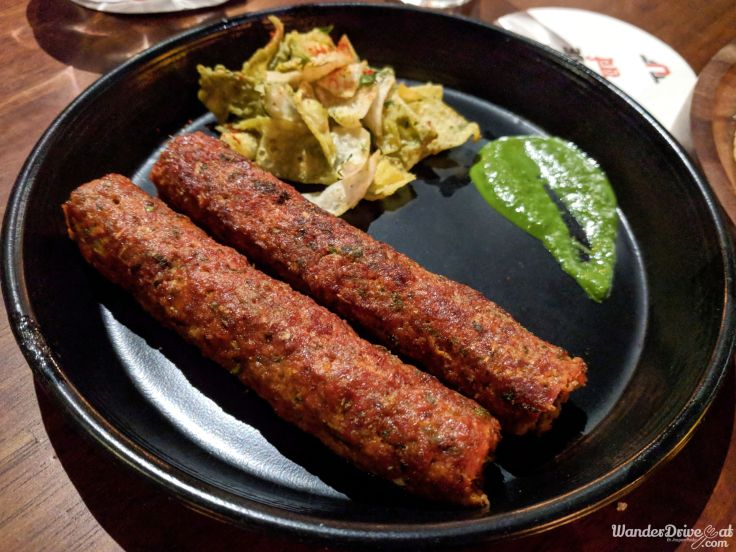 The Urban Foundry Nawabi Seekh Kebab