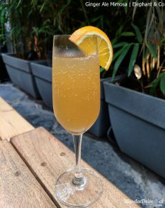 wanderdriveeat elephant & co Ginger Ale Mimosa