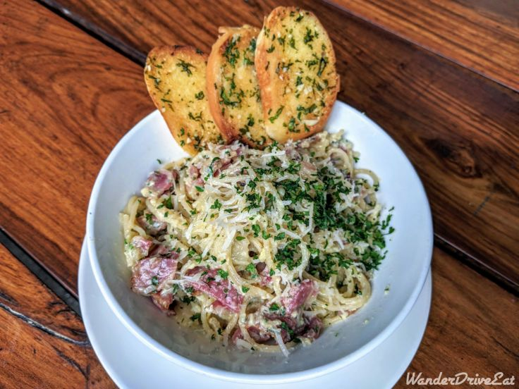 Independence Brewing Company Spagetti Carbonara