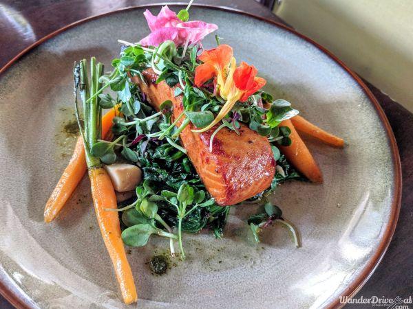 Wanderdriveeat-Sassy-Spoon-Scottish-Salmon-Sauteed-Spinach