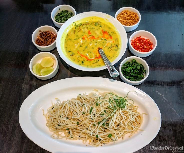 Cafe Wunderbar Viman Nagar WanderDriveEat Khow Suey