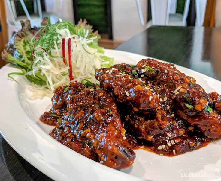 Cafe Wunderbar Viman Nagar WanderDriveEat Chicken Wings BBQ Sauce