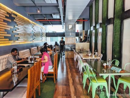 Cafe Wunderbar Viman Nagar WanderDriveEat interior
