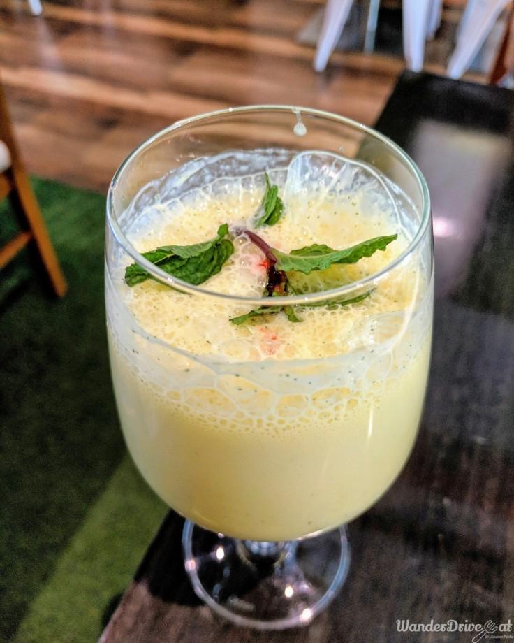 Cafe Wunderbar Viman Nagar WanderDriveEat mango drink