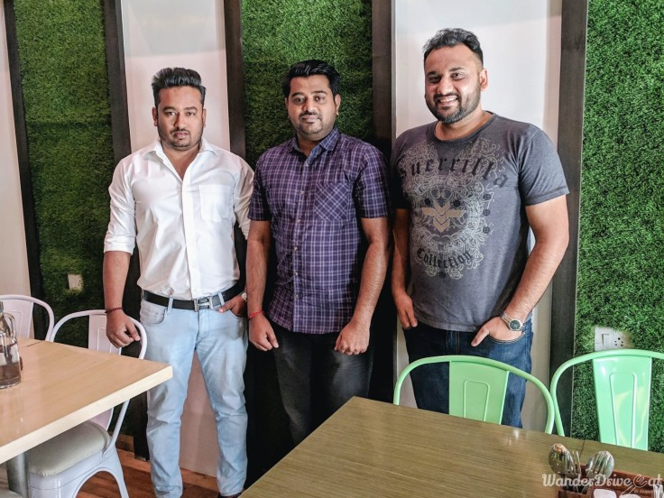 Cafe Wunderbar Viman Nagar WanderDriveEat Owner - Santosh Shinde