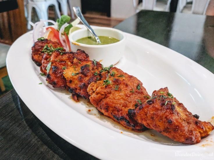 Cafe Wunderbar Viman Nagar WanderDriveEat Tandoori Fish Tikka
