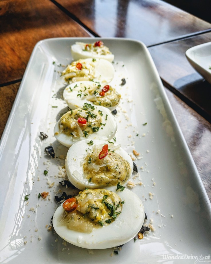 Independence Brewing Company Balewadi Deviled Eggs