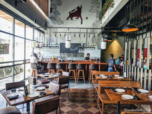Independence Brewing Company Balewadi interior