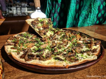 Independence Brewing Company Balewadi Roasted Mushrooms Pizza