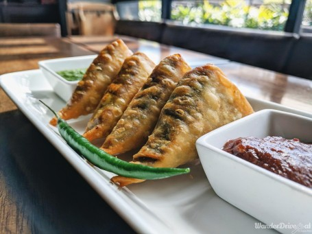 Independence Brewing Company Smoked Mutton Samosa