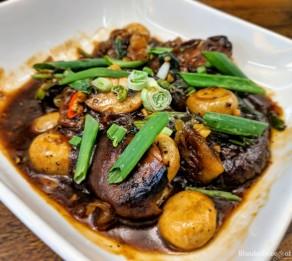 Taj Gateway Hinjewadi Wanderdriveeat mushroom green pepper sauce