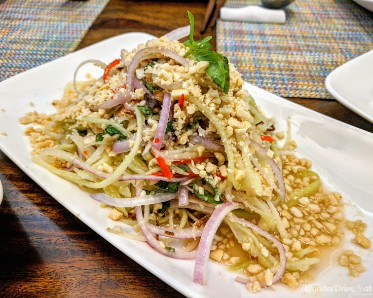 Taj-Gateway-Hinjewadi-Wanderdriveeat-raw-papaya-salad