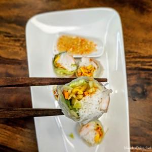 Taj Gateway Hinjewadi Wanderdriveeat Shrimp Summer Rolls