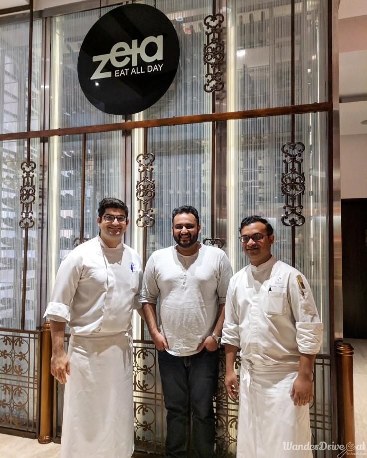 Zeta Hyatt Regency Chef Rohit Chadha & Chef Anirban Basgupta