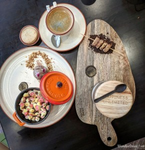 Zeta Hyatt Regency Desserts & Coffee