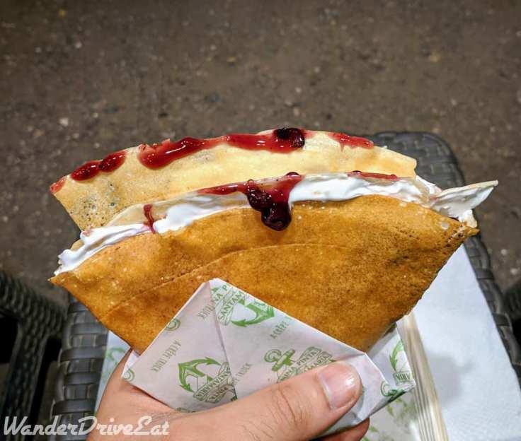 Nina Pinta Santamaria Food Truck Berry Yaan Crepe
