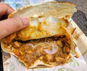 Nina Pinta Santamaria Food Truck Chicken Puneri Crepe