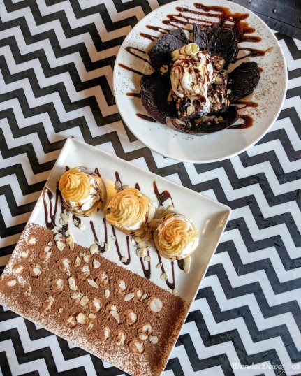 2bhk Pune Profiteroles / Chocolate Brownie