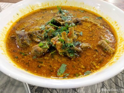 Fratelli Vineyards dinner mutton curry