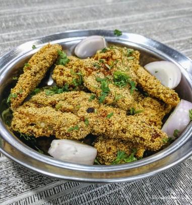 Shantadurga Seafood Aranyeshwar Bombil Fry