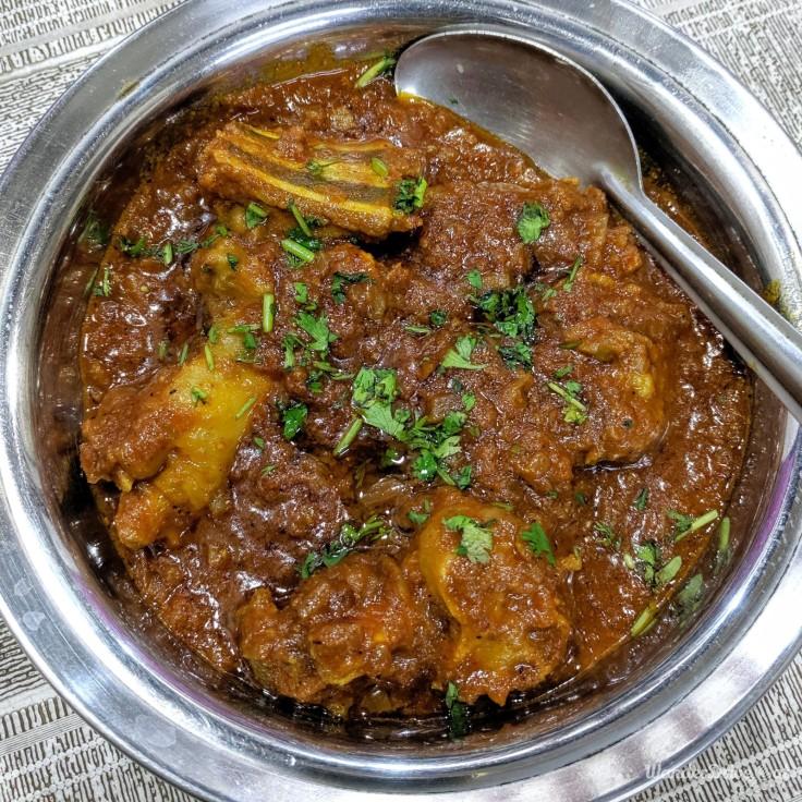 Shantadurga Seafood Aranyeshwar Mutton Sukkha