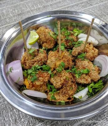 Shantadurga Seafood Aranyeshwar Prawns Rawa Fry