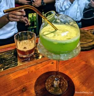 Cinco The Mills Pune Kiwi Mist Cocktail