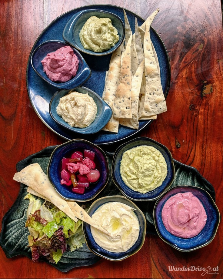 Cinco The Mills Pune Hummus