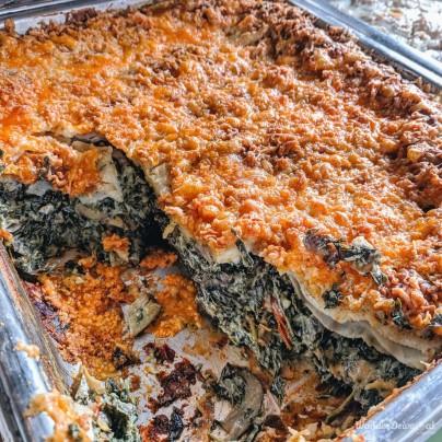 Cinco The Mills Pune Mutt Mushroom Lasagna