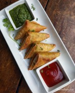 Smoked Vegetable Samosa