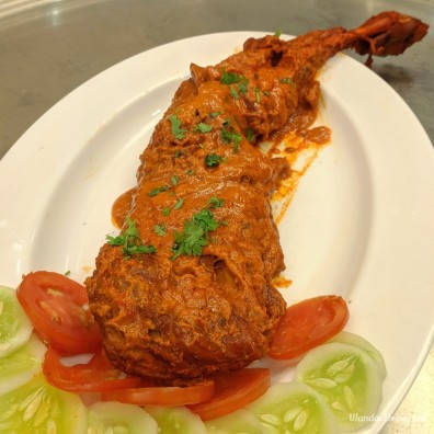 Mutton Raan in Red Sauce
