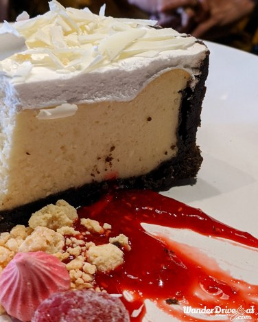 American Raspberry Cheesecake